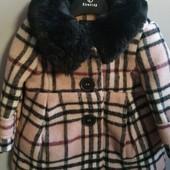 Шикарные шерстяное пальто размер 0-6, 6-12, 2-3