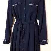 Платье-рубашка xs/s/m,34 евр,(можно на больший ).