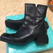 Кожаные ботинки Angela Falconi, размер 37,5