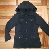 Стильное, элегантное стеганное пальто с бантиками! George! 9-11 лет