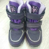 Зимние ботинки Том.М для девочки, размер 29, стелька 18.7 см в хорошем состоянии