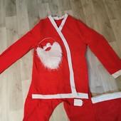 Новогодний костюм Дед мороз. С-М размер