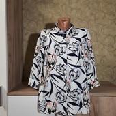 Собираем лоты!!!! Блуза-рубашка,размер 14/42