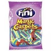 Мармеладные конфеты Fini Magic Carpets 100 гр.в форме разноцветных полосок с фруктовыми вкусами.