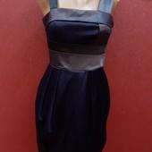 Прекрасное атласное платье