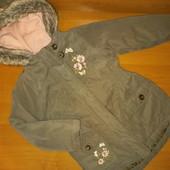 Куртка для девочки ,еврозима на 4 года, на рост 104