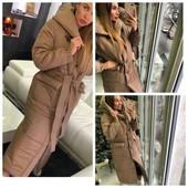 Стильное,крутое удлиненное пальто - одеяло