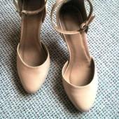 Классные нюдовые √√ матовые туфельки Asos √√ отличное качество.