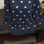 Тёплый большой свитер Бесплатная доставка свыше  5 ставок укрпочта