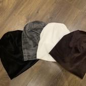 Велюровые шапки