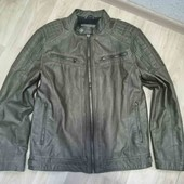 Мужская куртка /P. U-кожа/Angelo Litrico /L!!!
