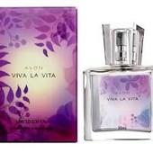 Женская парфюмерная вода Viva la Vita (30 мл) Avon.