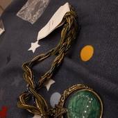 Шикарное ожерелье. Оригинальный подвес стиль Богемия