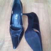 Туфли 39 р. кожаные george