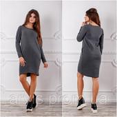 Теплые платья на флисе. Размеры m, l, xl, xxl