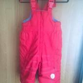 брюки, комбинезон, зима, р. 1,5 года 86 см, Coccodrillo. состояние отличное