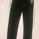 Спортивные штаны на флисе с лампасами