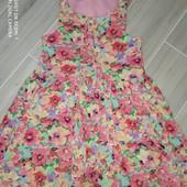 Красивое, нежное платье на девочку 7лет замеры на фото