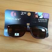 Очки для чтения +3 плюс солнцезащитные очки. 2 в 1! Opti Care, Германия.