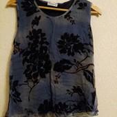 Шелковая шифоновая нарядная блуза к Новому году !