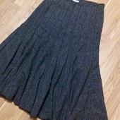 Зимняя Длинная юбка на подкладке