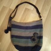 Фірменна в'язана сумочка в хорошому стані