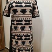 Классное брендовое стильное платье с вышивкой New look,S,M