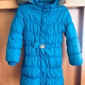Куртка, еврозима, внутри флис, размер 5-6 лет 116 см, Bhs. состояние отличное