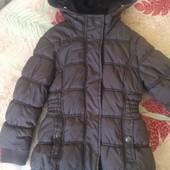 Куртка зима, внутри флис, размер 11-12 лет 146-152 см, Rodeo. состояние отличное