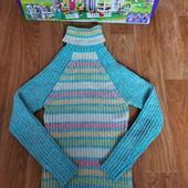 Не пропустите!!!Красивый тепленький свитерок плотной вязки на девочку 8-13 л
