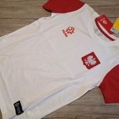 Польша! Спортивная футболка для физкультуры 146 рост