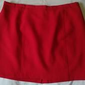 Яркая фирменная костюмная юбка на подкладке,28p(8xl)