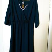 Платье на невысокую леди р.56
