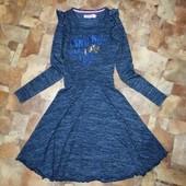Стильное платье на худенькую девочку