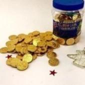 Турция. Шоколадные монеты. Лот 50 шт.