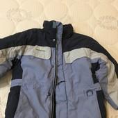 Куртка на зиму 116 см, хлопчик