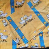 Комплект дитячої постільної білизни у відмінному стані 100 % хлопок