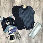 Lupilu пакет одежды для мальчика р.50/56