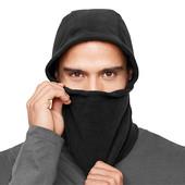 Теплая балаклава,шарф, подшлемник микрофлис от Tchibo, цвет черный размер универсальный