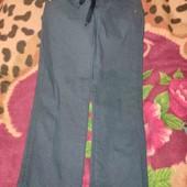 отличные, современные котоновые плотные штаны для школы на мальчика6-7 лет
