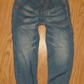 Суперские Летние тонкие джинсы 5-7лет