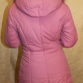 куртка полупальто зима,с капюшоном,очень теплое!удлиненное! опушка натур.пух ЗИМА, реал.цена на фото