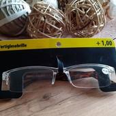 Очки для чтения + 1. Германия. Исключительное качество!