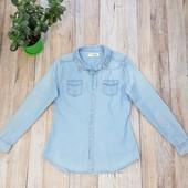 Женская джинсовая рубашка Zebra р L