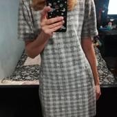 Базовое буклированое платье р 44