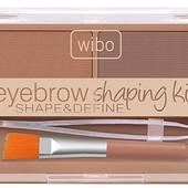Набор для оформления бровей Wibo Eyebrow shaping kit, 1 тон