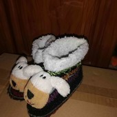 комнатные тапочки ботинки