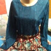 Платье в пол(из гипюра и шифона на подкладке) на 42 евро