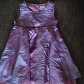 Нарядное платье до 2,5 лет