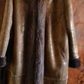 Натуральная дублёнка овчина 54-56р